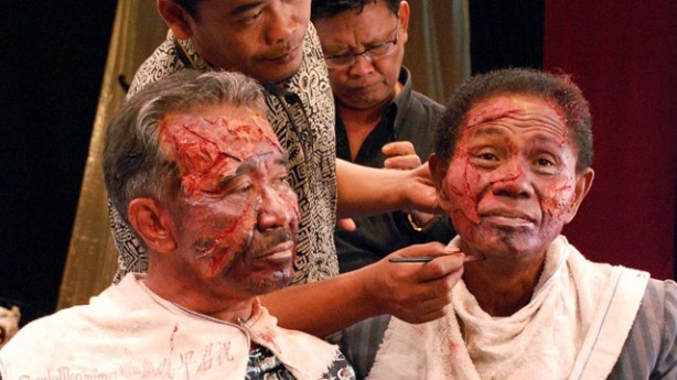 Still from the documentary The Act of Killing